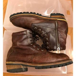 ジャックローズ(JACKROSE)のjackrose slow wear lion brown boots(ブーツ)