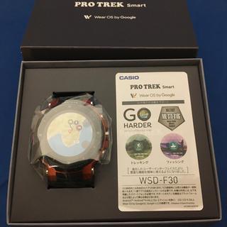 カシオ(CASIO)の新品未使用 カシオ PROTREK Smart  [WSD-F30-RG](腕時計(デジタル))