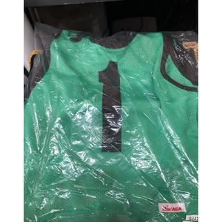 ミカサ(MIKASA)のジュニア ゲームベスト 1〜10 緑 MIKASA(バスケットボール)