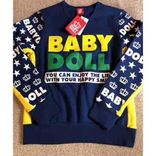 ベビードール(BABYDOLL)の新品タグ付き✨ベビードール裏起毛トレーナーSサイズ男女兼用(トレーナー/スウェット)