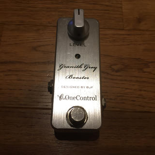 One Control Granith Grey Booster 中古(エフェクター)