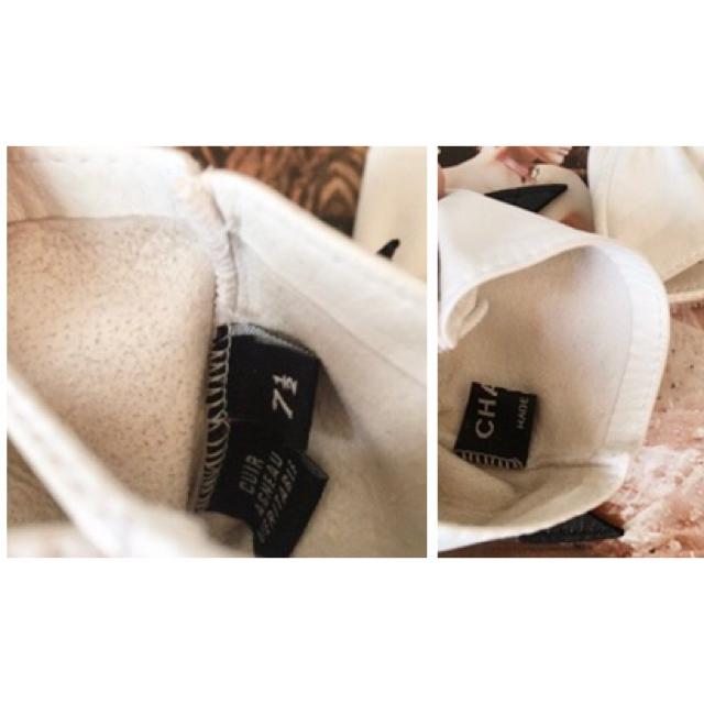 CHANEL(シャネル)のシャネル❤バイカラー リボン グローブ 手袋 レディースのファッション小物(手袋)の商品写真