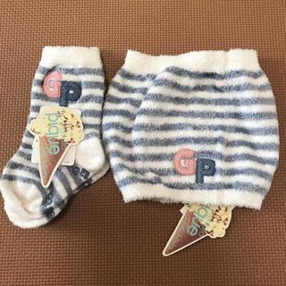 ジェラートピケ(gelato pique)の【新品】ジェラートピケ 靴下 腹巻 ベビー 幼児(その他)