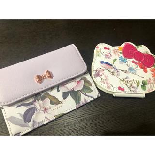 チェスティ(Chesty)のchesty キティちゃんミラー&TEDBAKERミニ財布(財布)
