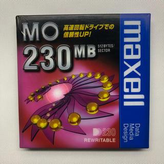 マクセル(maxell)の新品 maxell MA-M230.B1P MO 230MB(その他)