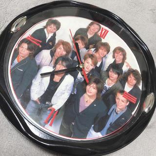ジャニーズ(Johnny's)のジャニーズ 掛け時計(掛時計/柱時計)