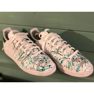 アディダス(adidas)のスタンスミス    カスタム ティファニーブルー(スニーカー)
