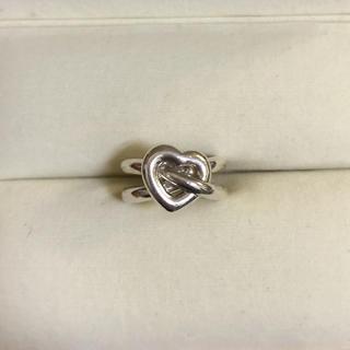 スタージュエリー(STAR JEWELRY)のStar jewelry ハートのシルバーリング(リング(指輪))
