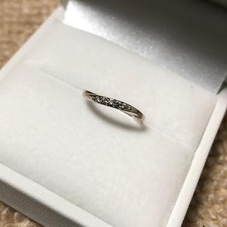 ピンキーリング ダイヤ 2号 アクセサリーpepe(リング(指輪))