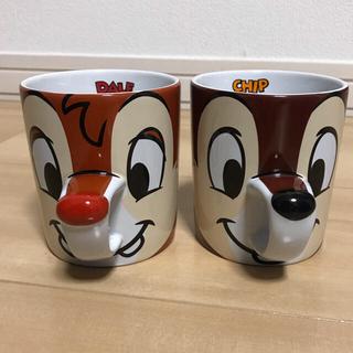 チップアンドデール(チップ&デール)のチップとデール マグカップ(グラス/カップ)