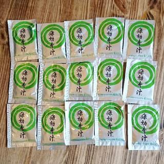 アサヒ(アサヒ)の緑効青汁(青汁/ケール加工食品)