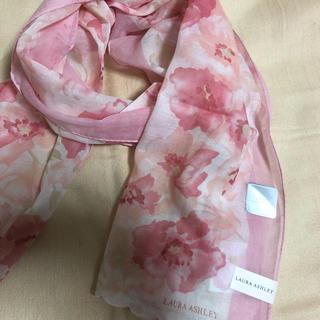 ローラアシュレイ(LAURA ASHLEY)のローラアシュレイ  花柄スカーフ(バンダナ/スカーフ)