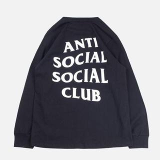 アンチ(ANTI)のAnti social social club 長袖 ロンT(Tシャツ/カットソー(七分/長袖))