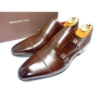 マドラス(madras)の【新品◆日本製◆定価3万】マドラス 革靴 25.0 EEE(25~25.5向け)(ドレス/ビジネス)