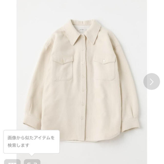 moussy - BRUSHED TWILL BIG シャツ
