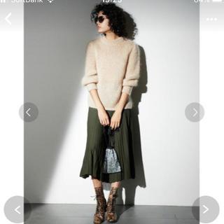 ミラオーウェン(Mila Owen)の未着用ミラオーウェン ふんわり袖ニット obli yori cen(ニット/セーター)