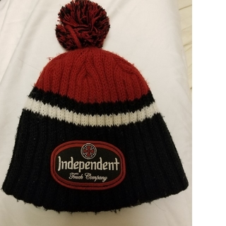 インディペンデント(INDEPENDENT)のindependent ニット帽 カナダ製(ニット帽/ビーニー)