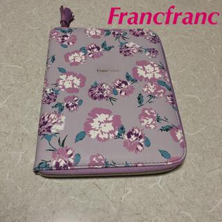 フランフラン(Francfranc)のフランフラン マルチケース 花柄💐 新品(母子手帳ケース)