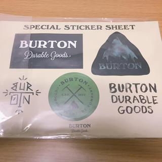 バートン(BURTON)のBURTON STICKER SHEET(その他)