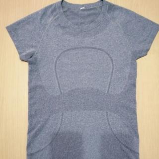 ルルレモン(lululemon)のlululemonswiftlyティシャツグレーsize6(Tシャツ(半袖/袖なし))