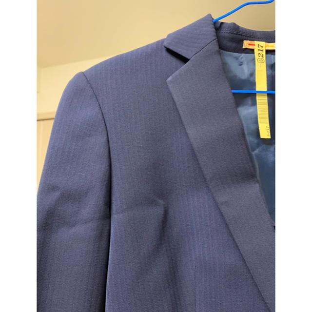 ORIHICA(オリヒカ)の紺のレディーススーツ レディースのフォーマル/ドレス(スーツ)の商品写真