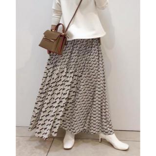 ロペ(ROPE)のROPE モノグラムジャージースカート(ロングスカート)