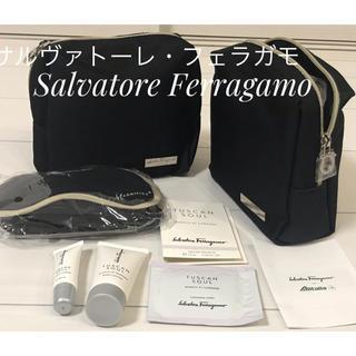 サルヴァトーレフェラガモ(Salvatore Ferragamo)の【3個セットに変更】【フェラガモ】ビジネスクラスアメニティ(旅行用品)
