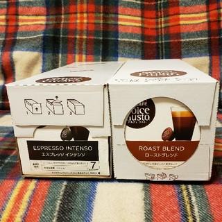 ネスレ(Nestle)のネスカフェドルチェグスト 6箱(コーヒー)