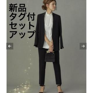 ドゥーズィエムクラス(DEUXIEME CLASSE)のCELERI 新品 18AW タキシードジャケット & センタープレスパンツ(スーツ)