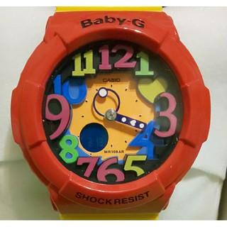 ベビージー(Baby-G)の[新品]CASIO Baby-G  クレイジーネオンシリーズ 赤(腕時計)