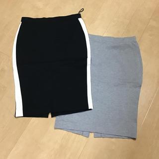 ユニクロ(UNIQLO)のユニクロ タイトスカート2枚(ひざ丈スカート)