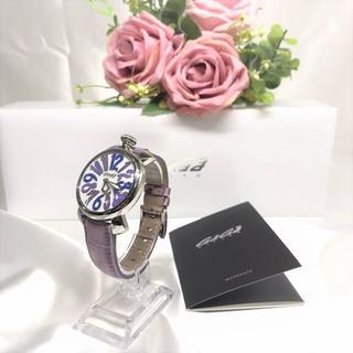 ガガミラノ(GaGa MILANO)のガガミラノ 腕時計 マヌアーレ40mm 5020.3 美品!(腕時計)