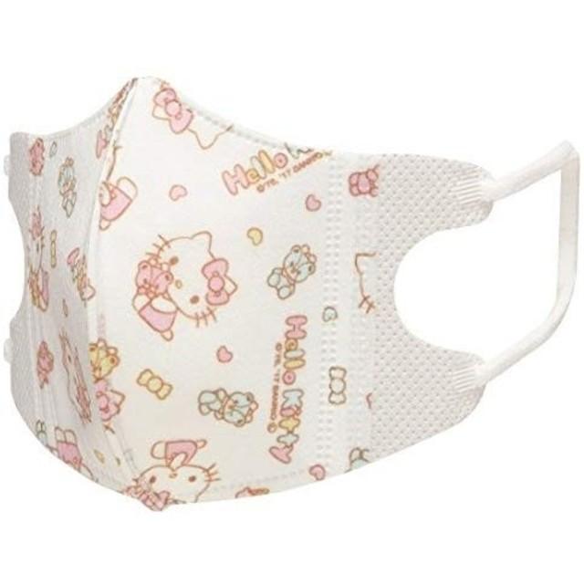 ハローキティ - ハローキティ 立体 マスク 小さめ 1-3歳用 5枚入×2 サンリオ スケーターの通販