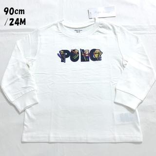 ラルフローレン(Ralph Lauren)のスキーベアコットンジャージーティー 90cm/24M(Tシャツ/カットソー)