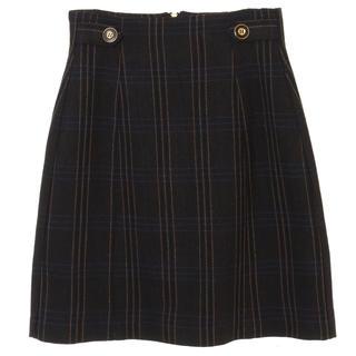 トランテアンソンドゥモード(31 Sons de mode)のハイウエスト台形スカート (ミニスカート)