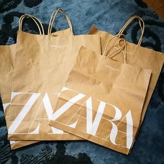 ザラ(ZARA)の6点 ZARAショップ袋(ショップ袋)