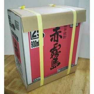 限定販売    プレミアム焼酎  赤霧島(芋焼酎)  900ml  6本(1箱)(焼酎)