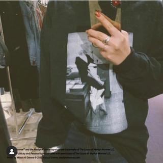 アメリヴィンテージ(Ameri VINTAGE)のAMERI RELAX MARILYN MONROE TOP(Tシャツ(長袖/七分))
