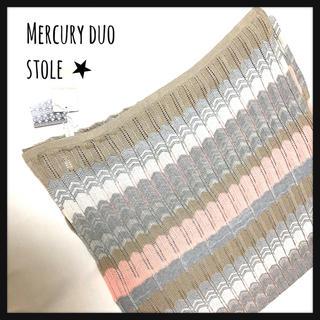 MERCURYDUO - 全品999円★【マーキュリーデュオ】新品ストール