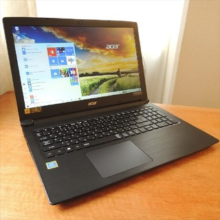 エイサー(Acer)のWindows10/Pentium Gold/8G/SSD+HDD ACER A(ノートPC)