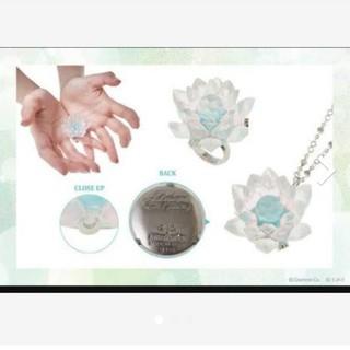キューポット(Q-pot.)のQ-pot. セーラームーン 幻の銀水晶 指輪 ネックレス キューポット(その他)
