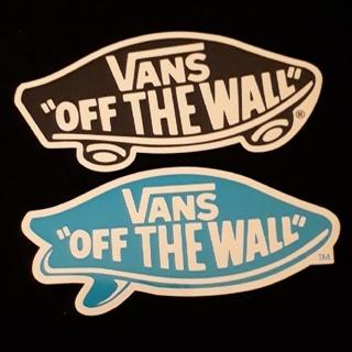 ヴァンズ(VANS)のVANS ステッカー大 スケートボード(スケートボード)