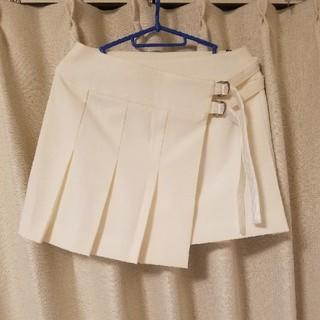 クイーンズコート(QUEENS COURT)のプリーツスカート ラップスカート(ミニスカート)