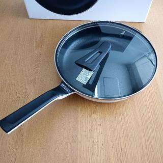 【新品未使用】平野レミ レミパン ワイド 28㎝ ホワイト RHF-501(鍋/フライパン)