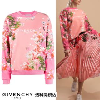 ジバンシィ(GIVENCHY)の【新品】GIVENCHY PARIS フローラルプリント スウェットシャツXS(トレーナー/スウェット)