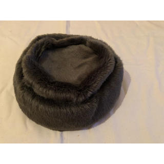 ロキエ(Lochie)のセレクトショップ 美品! ファー帽子(ハンチング/ベレー帽)