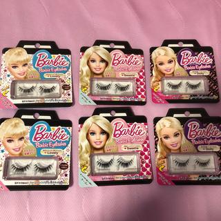 Barbie - Barbie 付けまつ毛 3種類 6点セット ナチュラル