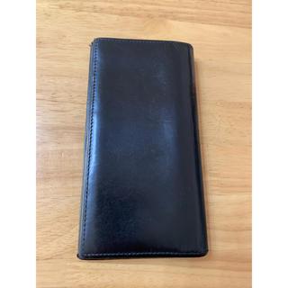 ホワイトハウスコックス(WHITEHOUSE COX)のホワイトハウスコックス 長財布 折財布 ブラック(長財布)