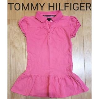 トミーヒルフィガー(TOMMY HILFIGER)の6 TOMMY HILFIGER キッズ チュニックワンピース(Tシャツ/カットソー)