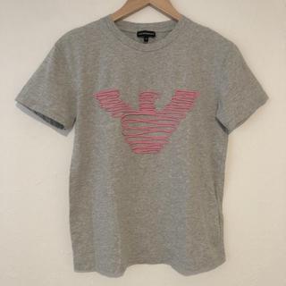 エンポリオアルマーニ(Emporio Armani)のエンポリオアルマーニ Tシャツ 半袖 40 ロゴデザインTシャツ(Tシャツ(半袖/袖なし))